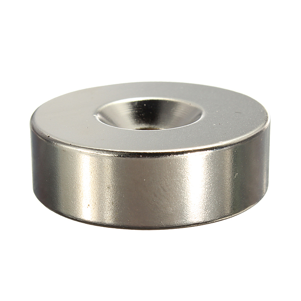 30mm X 10mm With 6mm Countersink Hole N35 Strong Disc