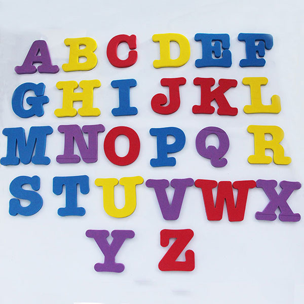 Eva magnetic letters alphabet fridge magnet educational for White magnetic letters and numbers