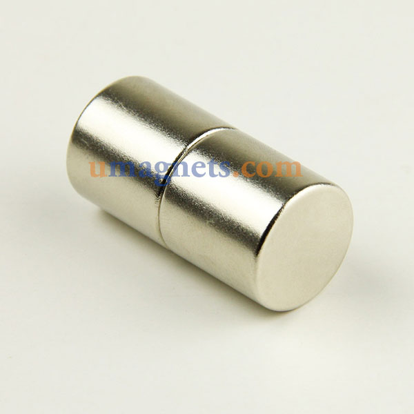 20mm x 20mm N35 Super Strong Round Cylinder Disc Rare Earth Neodymium Magnets Nickel Plated Incredibly Strong Magnet