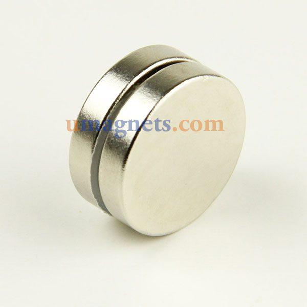 ecef8808882 24mm x 5 mm N35 super forte Disco Cilindro redondo Rare motor magnético da  Terra imãs de neodímio niquelado
