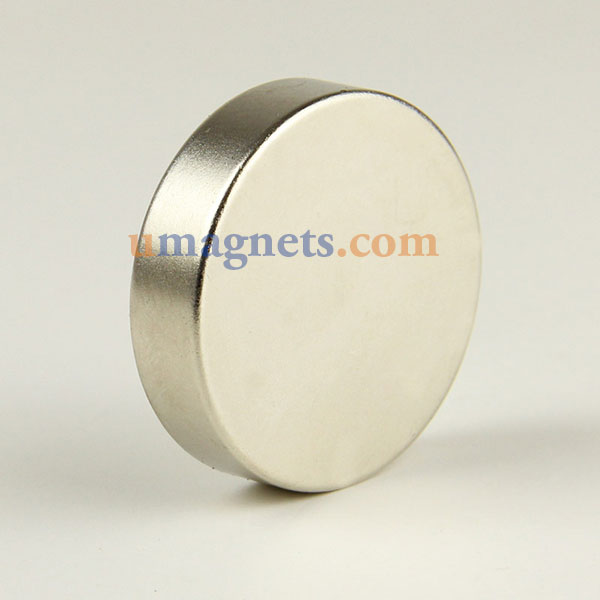 40mm x 10mm N35 Super Strong Round Circular Cylinder Rare Earth Neodymium Magnets Nickel Plated Large Neodymium Magnets For Sale