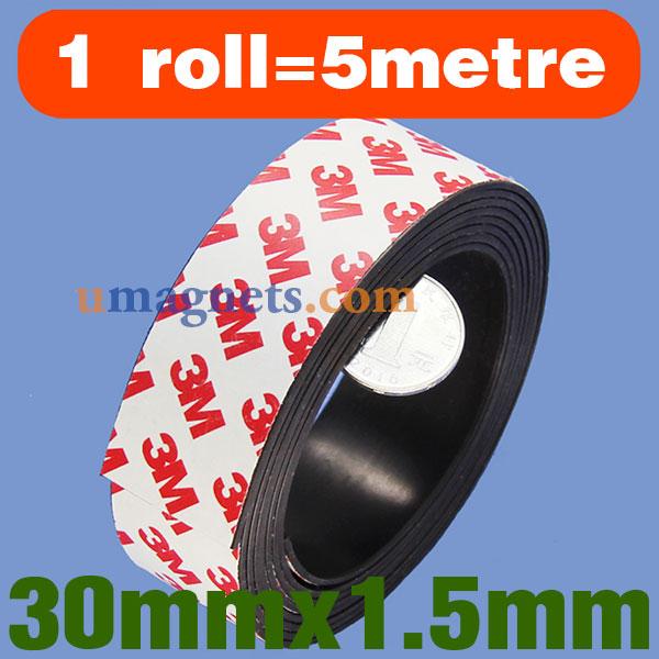 Self-adhesive magnetic tape neodymium
