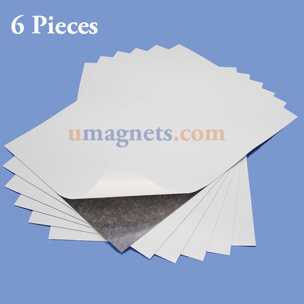 Flexible A4 Magnetic Sheet with 3M Self Adhesive