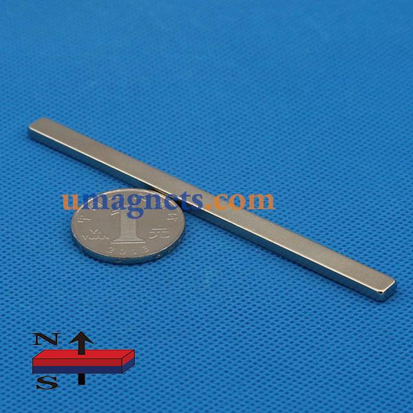 5pcs 50mm x 6mm x 5mm Strong 50 x 6 x 5 NdFeb Neodymium Rectangular Magnet
