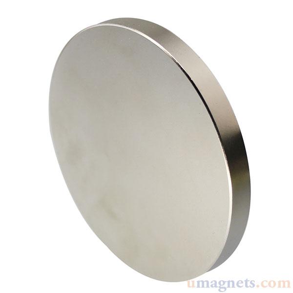 Super leistungsstarker runder Scheibenmagnet N52 25 mm x 5 mm Seltenerd-Neodym